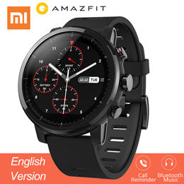 Xiaomi Huami Amazfit 2 Amazfit Stratos Pace 2 Smart Watch with GPS Xiaomi Watches PPG Heart Rate