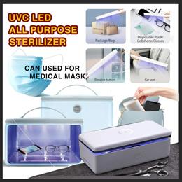 [Ready Stock] 59S PORTABLE UVC LED All-Purpose Sterilizer | 3 Different Models