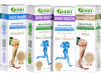 UrahBest Deal for URAH Glucosamine Cream - Improves Joint pain knee pain  for elderly and young!