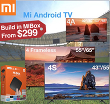 2018 new model★ 1 year warranty Authentic Xiaomi Mi TV 4X/4S/4C/4/4A  32/40/43/49/50/55/65inches