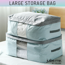 [JusBeMe] Premium Quality Jumbo Storage Bag | Blankets Bedsheet Winter Clothes