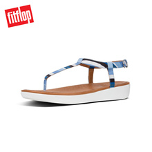 FITFLOP TIA TOE THONG BLUE STRIPEY ★100% Authentic★
