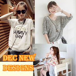 Korean fashion casual tops/T-Shirts/vests/blouses/dress ~high quality fast delivery