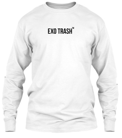 ed4762c1 Qoo10 - Exo Trash Design Gildan Long Sleeve Tee T-Shirt : Men's Clothing