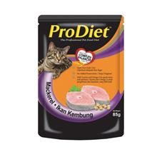 ProDiet 85g Wet Cat Food Mackerel Flavor x 48 packs
