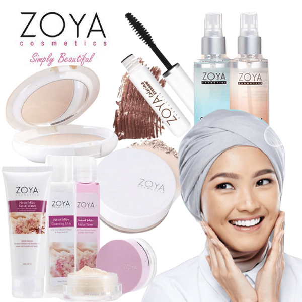 ZOYA Colllection || Body Mist | Loose Powder | Eyebrow | Moisturizer | Toner | Cleansing Deals for only Rp65.000 instead of Rp65.000