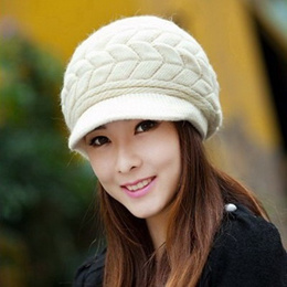 Winter Knitted Hats / Warmth / Thick