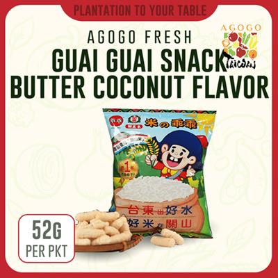[TAIWAN] Guai Guai Rice Crackers (52g)