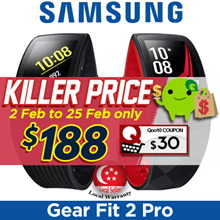 Samsung Gear Fit 2 Pro Large (SM-R365) / Smartwatch / Smartband / Local Set with Local Warranty