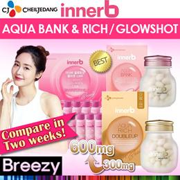 ★UP $73 → $25.99★ [innerB] Aqua Bank / Aqua rich DOUBLEUP/ Glowshot Drink Collagen /