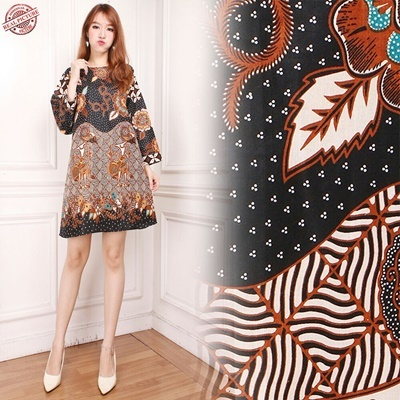 Midi Dress Samira Tunic Batik