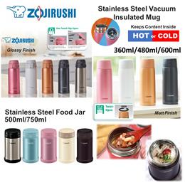 [zojirushi] Genuine ZOJIRUSHI Stainless Steel Vacuum Thermos Flask/Bottle/Mugs ★Lowest Price★