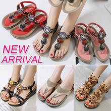 New Arrival High Quality Women Fashion Sandals Ladies Wedges Flip Flop Non-slip Plus Size 34-42