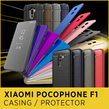 Xiaomi Pocophone F1 Max 3 2 mix 2 2s note 2 3 Mi 8 se Explore case Tempered Glass screen protector