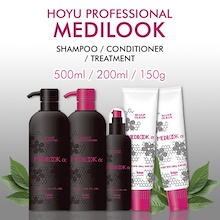 [HOYU] 2Set Price !! Hoyu Professional Medilook Scalp Shampoo/ Conditioner/ Scalp Tonic/ Scalp Clean