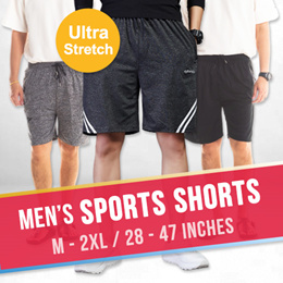 M-2XL Sports Shorts 28 to 47inches!  Comfortable / Ultra Stretch