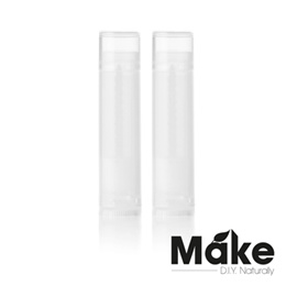 10pc Empty Lip Balm Lipbalm Tubes Tube (Clear Translucent or Colourful 5mL) Beeswax