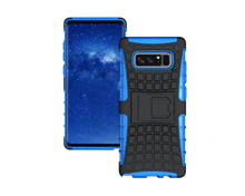 For Samsung Galaxy Note 8 Rugged Armor Phone Cases Hard PC TPU Hybrid Kickstand Back Cover