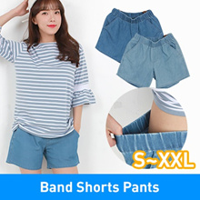 ★Crazy Super sale★New Arrival/Women Casual/Jeans/Band Shorts Pants/Denim/Plus Size/S~XXL/Elast