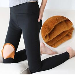 A  women winter leggings/plus size thermal wear/-15degree keep warm/women casual pants/
