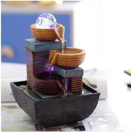 European small fountain new product water lucky creative personality ornaments