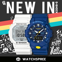 *APPLY 25% OFF COUPON* G-SHOCK NEW IN 2017/2018 NEW MODELS COLLECTION. Free Shipping and Warranty!