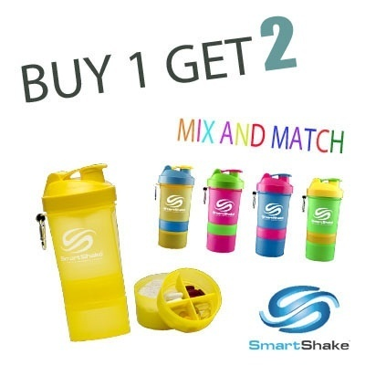 Free ShippingBUY 1 GET 2 Smart shaker 6 Neon Colors Deals for only Rp280.000 instead of Rp280.000
