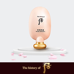 Korean Cosmetics ♥ The Golden Fishery [the history of Whoo] Gongjinhyang_Mi : Sun Base (SPF42/PA++) 45ml / LG care