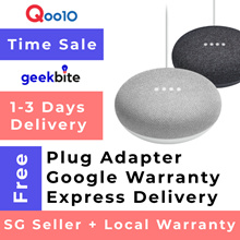 ✅ GeekBite Google Nest Mini USA Gen 2. Smart Home Assistant. Cheapest In Qoo10. Comes With Freebies