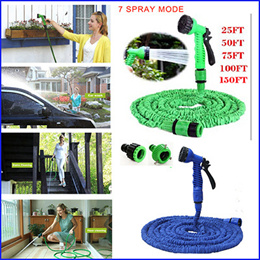 SUMMER 2016 Hot Selling 25 50 75 100 125FT Expandable Magic Flexible Garden Hose For Car Washing