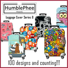 Travel Luggage Bag Protector Cover *100 Over Designs* SG Seller Ready Stocks
