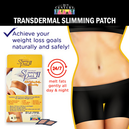 [21st Century] Transdermal Slimming Patch ( 6s) (3 FOR $11.00)