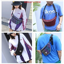 Men Women Unisex Shoulder Bag Waist Bag Sling Bag Chest Bag Geometric Bag