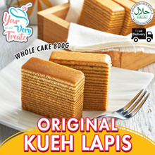 BACK BY POPULAR DEMAND! YourVeryTreatz Original KUEH LAPIS(Pre Cut 96 Slices) Promo!! Free Delivery!