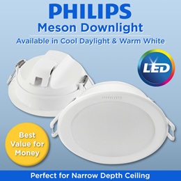 PHILIPS Meson LED Downlight | False Ceiling Light | Super bright and save electricity