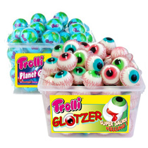 Trolli Planet Earth Jelly 60 pieces / Eyeball Jelly 60 pieces 1 box / Free Shipping