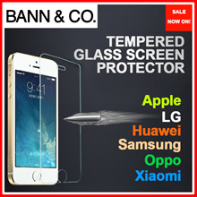 ★NEW: S9★Premium Curved Tempered Glass / Film Screen Protector - iPhone/Samsung/Xiaomi