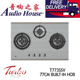 TURBO T773SSV 77CM BUILT-IN HOB