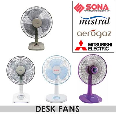 led products desk adband flashing fans