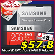 SUPER DEAL ! ★Original★ Samsung Micro SD EVO Plus 256GB with SD adapter