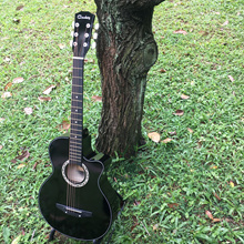 🎸SG SELLER🎸SG CHEAPEST NEXT DAY DELIVER  High Quality Best Value Acoustic Guitar For Beginner