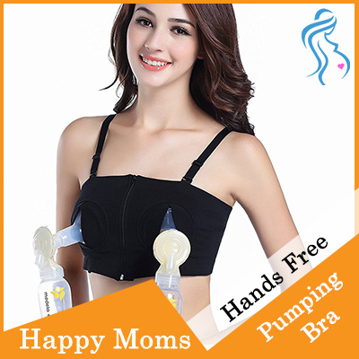 4c20e111d982f HAPPYMOM HANDS FREE PUMP BRA - FOR PUMPING MUMMIES - HOLD ALMOST ALL TYPES  OF PUMPS