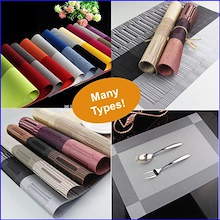2pcs Local Seller Table Mats * Table Washable Placemats  Insulation Picnic Placemat Table Pad Coaste