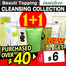 2019 RENEWAL!★1+1★Qoo10 LOWEST PRICE★Innisfree★Cleansing Foam Best Line!★Cleanser / Oil / Cream