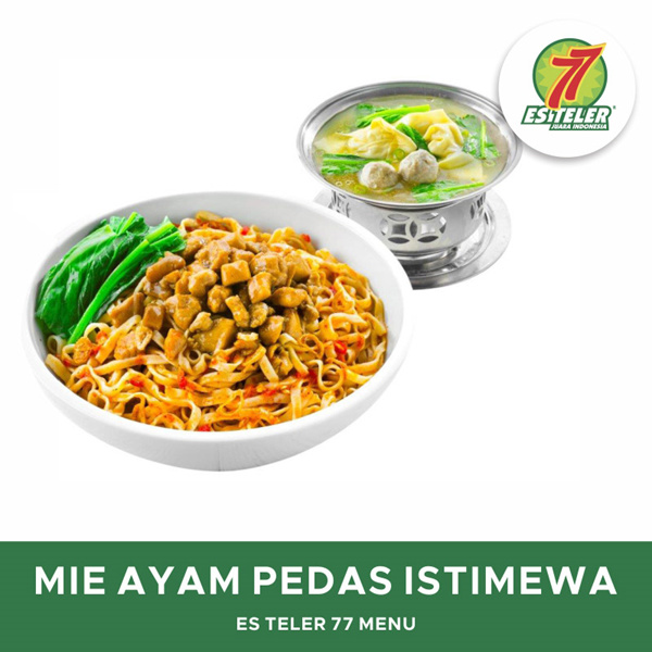 [FOOD] Es Teler 77 Mie Ayam Pedas Istimewa Deals for only Rp29.900 instead of Rp29.900