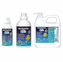 NUTRAFIN AQUA+plus Water Conditioner (Anti-Chlorine) | 250mL / 500mL / 2L Packs
