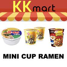 Mini Cup Ramen-Pororo Jjajang/Yukaejang-Cup/Kimchi ramen-Cup/Cheese ramen/ Chamkkae ramen/Shin ramen