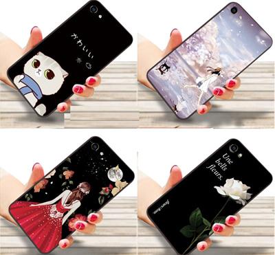 promo code 574aa b1909 Vivo Y81i Y81 X3L V3max V3 Y7+ Y67 V5 Lite casing back cover cartoon case