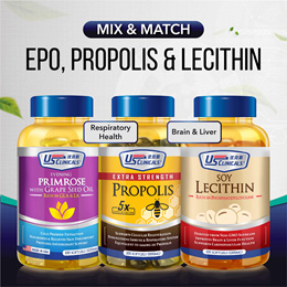 US Clinicals EPO Propolis Lecithin | Mix n Match | While Stocks Last