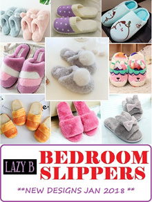 [LAZY B] NEW YEAR DISCOUNT * BEDROOM SLIPPERS* COMFY* ANTI-SLIP SOLE* THICK SOLE* PREMIUM QUALITY*